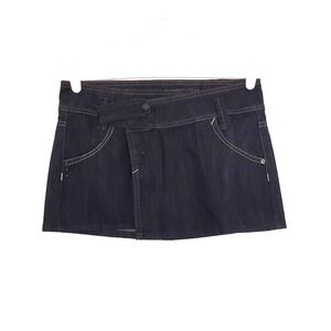 NWT MNG Blue Jean Skirt Size 2